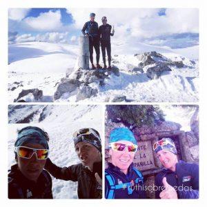 trekking con nieve